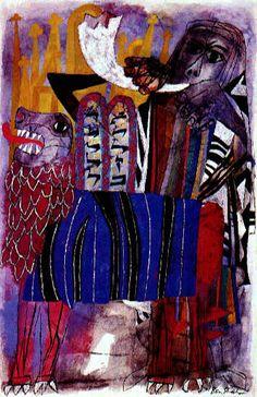 Ben Shahn (Lithuanie/USA, 1898-1969) – Third Allegory (1955) Musée du Vatican, Rome.