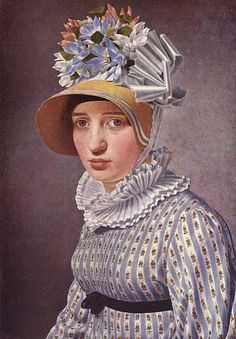 Christoffer Wilhelm Eckersberg (1783–1853), Portrait von Anna Maria Magnani, 1814