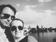Selfie time with Charles' bridge      #2europeans #czechrepublic #prague #europe #selfie #bridge #oldcity #blackandwhite #amazingpic #amazingday #roadtrip #beautiful #landscape #views #love #hashtag #goals #instagram #picture #enjoy #moments #lifestyle #travelphotography #travelgram #traveltheworld #trip #travelling #travel #traveladdict #aroundtheworld