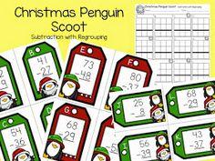 Mrs. Samuelson's Swamp Frogs: Christmas Penguins Scoot