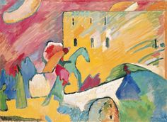 Vassily Kandinsky - The blue rider