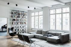 Urokliwe mieszkanie aktorki Ewy Gawryluk - Internity Home