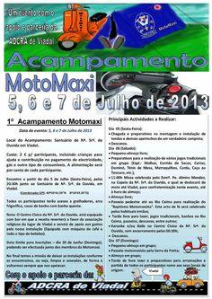 Acampamento MotoMaxi > 5, 6 e 7 Julho 2013 @ Santuário da N.ª Sr.ª da Ouvida, Viadal, Cepelos, Vale de Cambra #ValeDeCambra #Cepelos