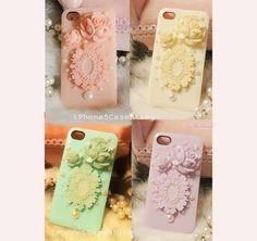 iphone 4s case, iphone 4 case, iphone 5 case, iphone cover 4 case, iphone case, cute iPhone 5 case, floral iPhone 4 case, cute iphone 4 case by iPhone5CaseBling, $12.98