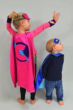 Superhelden-Kostüm: Umgang nähen