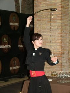 La venenciadora Nishi Sachie — at Vinos de Jerez. wine / vinho / vino mxm #vinosmaximum