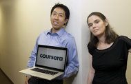 This month Coursera announced that a dozen top research campuses have joined Stanford and Princeton universities in offering online courses through its online platform. (AP Photo/Jeff Chiu)