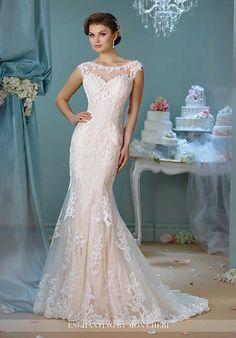 Enchanting by Mon Cheri 216159 Mermaid Wedding Dress