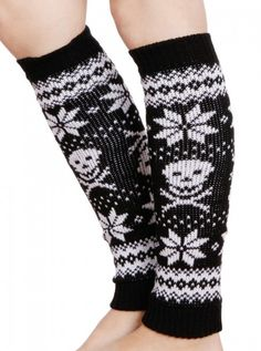 "Women's ""Bad To The Bone"" Leg Warmer by Pretty Attitude Clothing. Just leaving this here for inspiration."