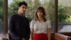 Walter and Paige... the very beginning of #Waige in Episode 1- Pilot #TeamScorpion