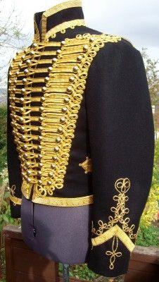 Hussar dolman, side