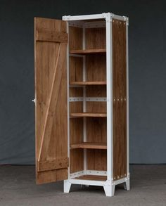 CABINET PX 1 WOOD - WHITE