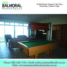 Come and enjoy your stay with us. Call us at: 083 448 1118 E-Mail: andre.saaiman@sachin.co.za #accommodation #Hartenbos #pooltable