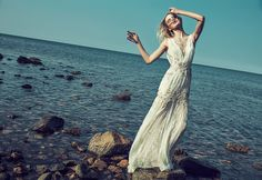 Badgley Mischka Bridal Spring 2015 Wedding Dress  ❤❥*~✿Ophelia Ryan✿*~❥❤