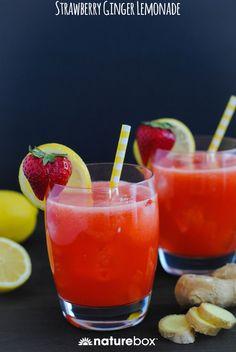 Strawberry-Ginger Lemonade — NatureBox Blog