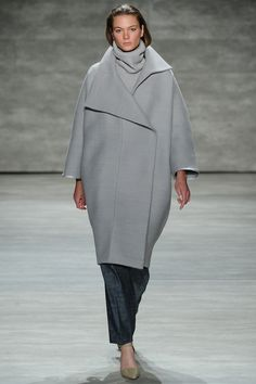 Tome   Fall 2014 Ready-to-Wear Collection   Style.com    starting to see a trends, coats for fat days