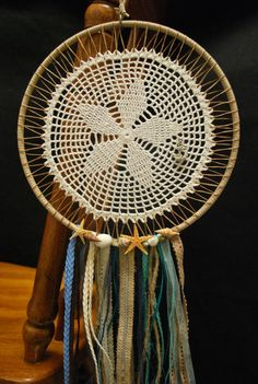 Beach themed dream catcher