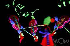 PSYCHEDLIC SYMPHONY, Janice Elliott, New Zealand. CentrePort Illumination Illusion Section, 2009 Brancott Estate WOW Awards Show