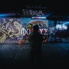 Check Out the Leake Street Graffiti Tunnel in London