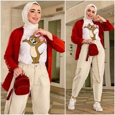 Summer Fashion Tips Colorful and chic hijab collection Modest Fashion Hijab, Modern Hijab Fashion, Muslim Women Fashion, Hijab Fashion Inspiration, Colorful Fashion, Girl Fashion, Fashion Outfits, Fashion Tips, Spring Fashion