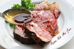 Prime rib roast au jus