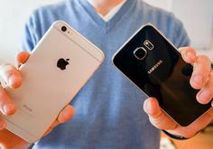 Galaxy S6 vs iPhone 6 Plus Cameras.