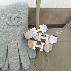 Chanel Gloves, Hermes Bracelet / Only Me ✌✔ xoxo