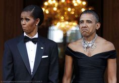 funny obama couple photoshop