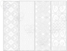 bookmark pattern 1, Bookmark, instant download, birthday activity, coloring sheet, coloring bookmark, bookmarks, bookmarks to print, pattern