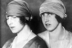 Princesses Helen and Irene of Greece and Denmark.