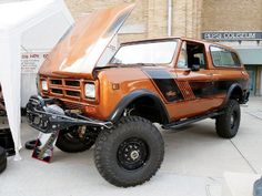 1980 Scout II. 'Cause we be cruising the nuclear wastelands in style.