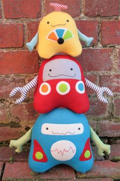 Stacks on Robots ... i love these!