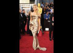 Stacy Keibler in Marchesa & Judith Leiber - 2012 Academy Awards