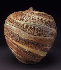 Ceramic vessel by Carrie Doman