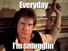 Smuggler and Nerf Herder... all in a parsec's work