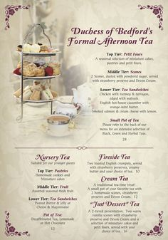 Menü - Englisch Rose Tea Room - Never turn down tea! Rosen Tee, Sightseeing London, London Travel, Tea Party Sandwiches, Finger Sandwiches, Tea Party Menu, Wedding Food Menu, Tapas, Simply Yummy
