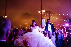 Uplighting can completely transform your tent - Jonathan Edwards Winery wedding - Ashley O'Dell Photography