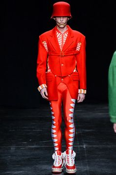 Walter Van Beirendonck Fall 2014 Menswear Collection Slideshow on Style.com