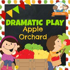 Dramatic Play Apple Orchard Printable Kit