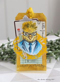 Anne's paper fun: Hipster tag