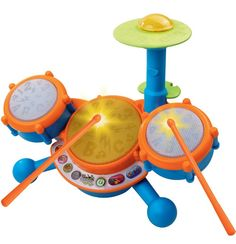 toys for 2 year old boy include fabulous musical toys for toddlers like this drum kit!
