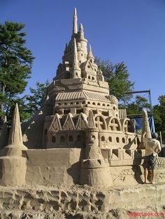 Top 33 des incroyables sculptures de sable, quand l'art s'invite à la plage