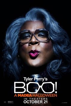 Tyler Perry in Boo! A Madea Halloween Boo A Madea Halloween, New Halloween Movie, Halloween Poster, Halloween Quotes, Halloween 2016, Halloween Tops, Madea Movies, Hd Movies, Movie Tv
