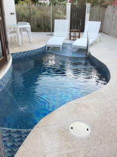 Private pool open your bedroom door and dive in
