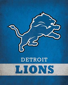 NFL - Detroit Lions Logo $24.99 Show your excitement for the Detroit Lions with this 16x20 Printed Canvas Logo from ScoreArt. This amazing print is optimal for the sports fan in your life.  #Detroit #Lions #DetroitLions #NFL #Football #Sports #ScoreArt Detroit Lions Logo, Detroit Lions Football, Detroit Sports, Football Team, Sports Team Logos, Nfl Logo, Canvas Home, Canvas Prints, Print Ideas