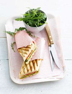 Panini 'Wegdromen in Italië' #WeightWatchers #WWrecept #lunch
