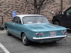 63 Chevrolet Corvair Monza by DVS1mn, via Flickr