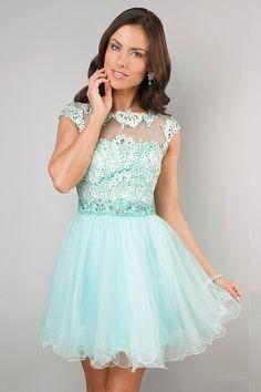 Enchanted 2014 Homecoming Dresses Scoop Neckline Off The Shoulder Short/Mini A Line