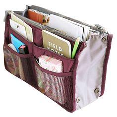 Organizador de bolsa