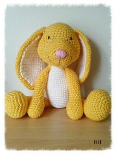 (4) Name: 'Crocheting : Sweet Bunny Pattern